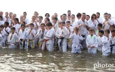 Entraînement à la plage World Kanreikai Karate 2019 – Parc national d'Oka, QC