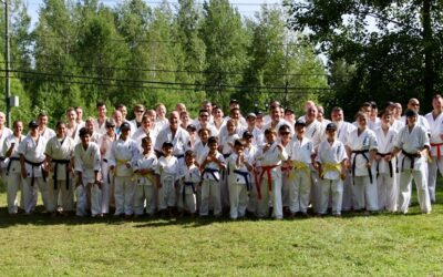 Camp d'été World Kanreikai Karate 2019 – Orford, QC
