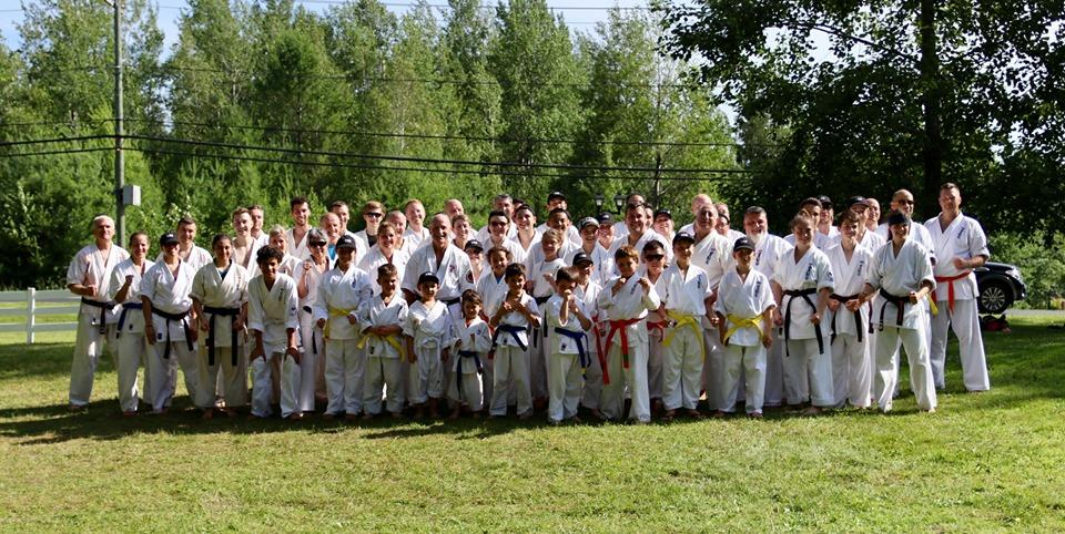 World Kanreikai Karate Summer Camp 2019 – Orford, QC